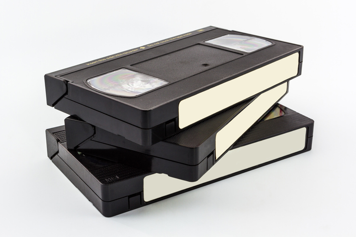 Convert VHS tapes to digital files